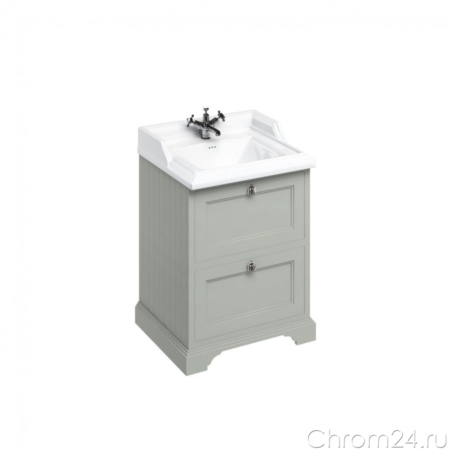 Freestanding Vanity Unit With 2 Drawers (Burlington)