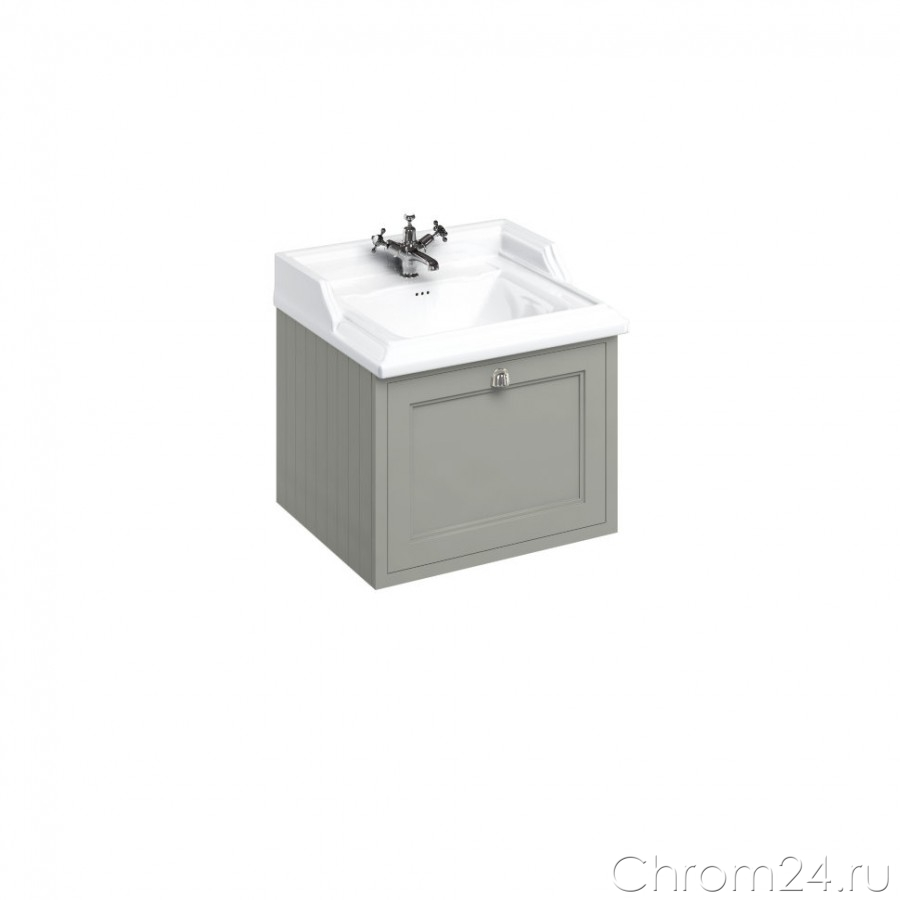 Wall Hung Vanity Unit Single Drawer (Burlington)