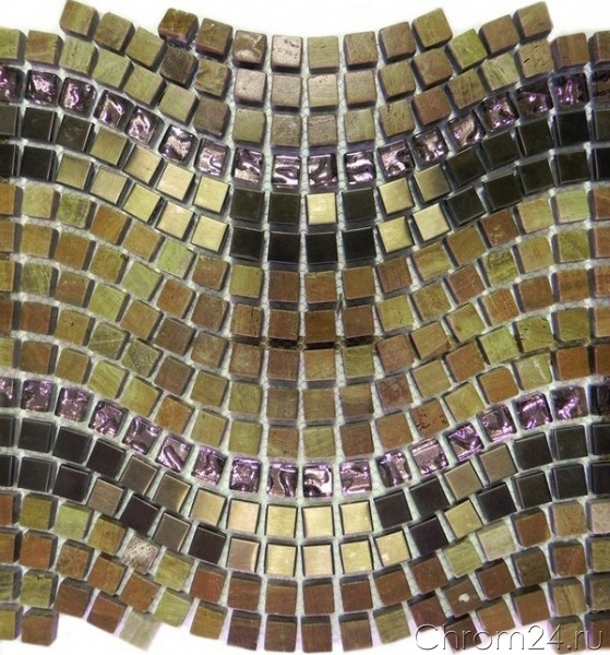 Wave Copper PT128-1 (Bars Crystal Mosaic)