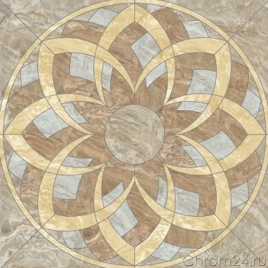 Premium Marble Light Brown Decor (Kerranova)