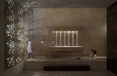 Horizontal Shower (Dornbracht)