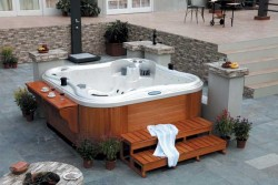 Outdoor Spa-563 Charlotte (JNJ Spas)