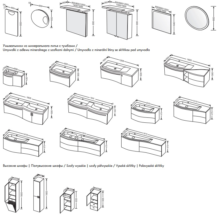 burgbad sinea 160 161x55. Black Bedroom Furniture Sets. Home Design Ideas